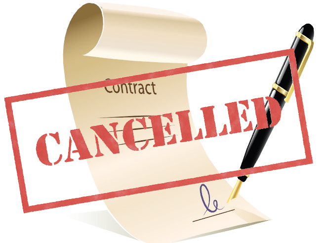 Cancelling a contract? The do's and dont's to consider beforehand