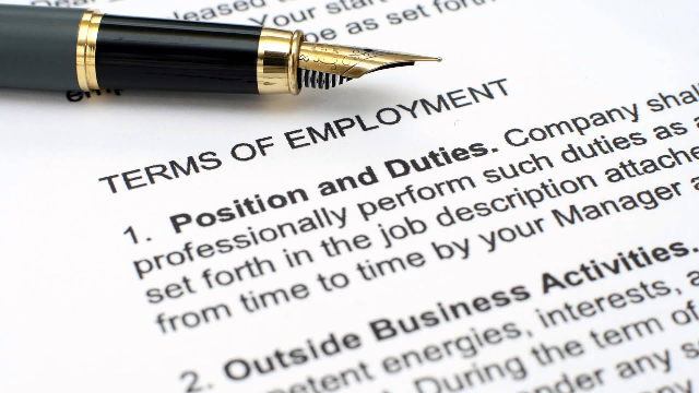 Can employees be dismissed for refusing to accept new terms and conditions of employment?