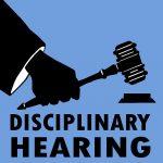 disciplinary hearing